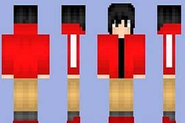 阳光男神 我的世界红衣少年皮肤下载