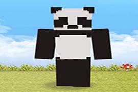 我的小熊喵不可能这么萌 我的世界小熊猫皮肤下