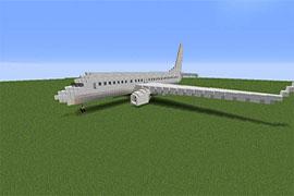 在我的世界里造波音客机 坐着波音环球旅行
