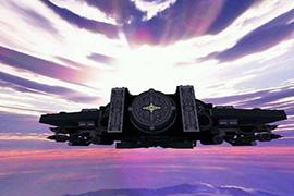 我的世界里建造的星际战舰 诸神的黄昏