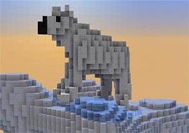 我的世界杯子里的北极熊 映射环保问题