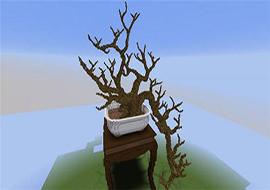 我的世界神还原作品赏 蔓引株连的盆栽