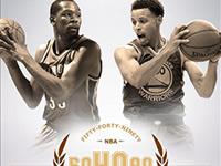 杜兰特库里联手再度创神纪录 NBA第一组合