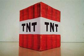 我的世界熊孩子太逆天 放假在家研制TNT