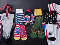 艾弗森推出品牌袜子 五大系列充满怀旧感