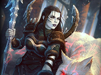 神之浩劫北欧的寒冬女神 物理射手斯卡蒂