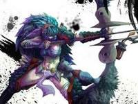 怪猎OL双刀打剑刹狼 精英剑刹狼白金新套路