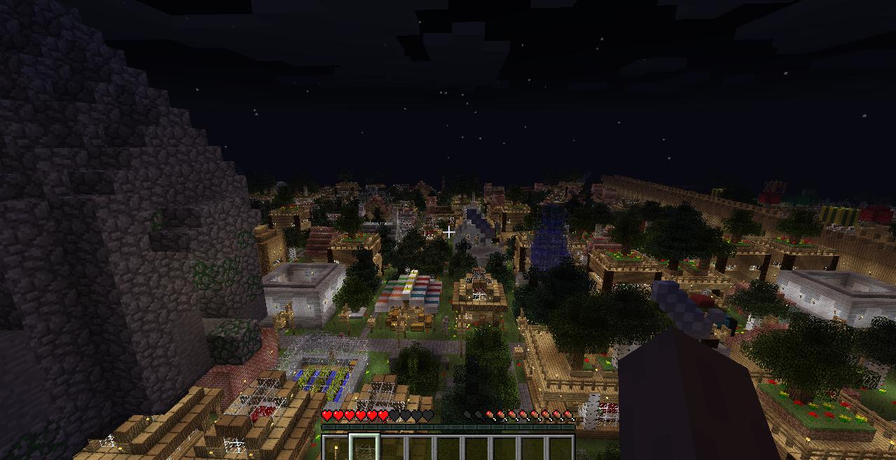 我的世界模拟大都市整合包下载