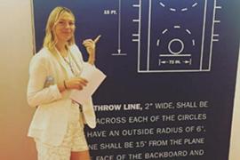 NBA大牌美女实习生 莎拉波娃同高管共事