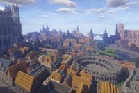 孤独凡尔赛 单人花费11个月建成惊天豪城