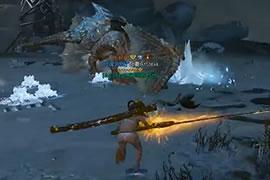 狩猎精英训练营 怪猎OL大连续必杀冰雷剑