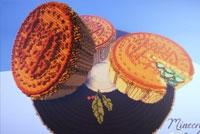 我的世界中秋作品欣赏 十五的月饼十六元