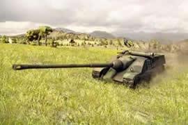 坦克世界法系TD155和261火炮两车测评