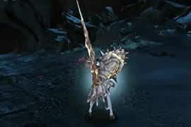 崛起的长枪 怪物猎人OL长枪solo精英熔岩龙