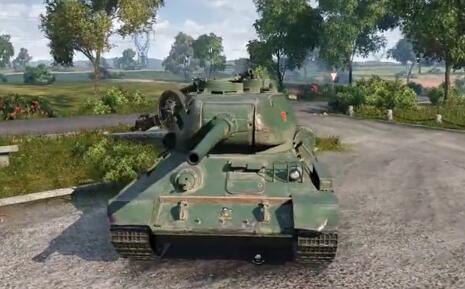 坦克世界赤色火风出品:C系重坦IS-2详解