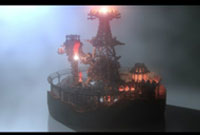 优秀作品鉴赏  火星能源小镇和蒸汽飞船