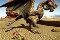 新手大锤成长之路 怪物猎人OL大锤vs沙雷鸟