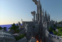 牛人沉迷我的世界 五年打造雄伟城堡