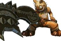 怪物猎人OL新武器 典藏版格林喵喵斧限时送