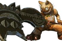 MHO剑斧无双怪物猎人OL变型的新武器斩斧