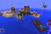 海岛生存中的家 我的世界生存模式中的房子