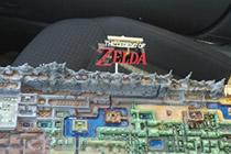 我的世界打造塞尔达传说地图模型3D打印技术
