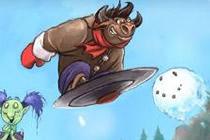 全新乱斗战场 风暴英雄冬幕节快来打雪仗