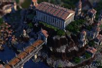 我的世界真实还原希腊城邦 希腊城邦美图