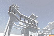 我的世界古风建筑物地图 冰雪城建筑美图
