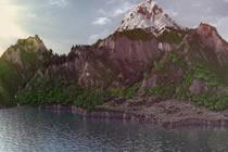 我的世界结合地形和自然元素的生存夢幻島