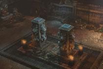 传奇永恒野外地图猪洞游戏实景截图欣赏