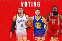 NBA2KOL韦少落选首发 球员媒体投票列第一