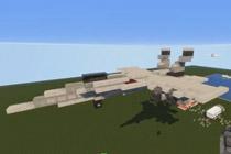 如何在我的世界中做飞机 教你制作一架F18E