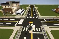 现代城镇道路规划教程 我的世界建筑教学