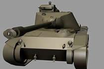 坦克世界数据凯迪拉克7级金币轻坦T71 CMCD