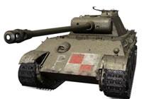 坦克世界超测波兰线首台金币中坦6级贵宾犬