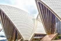澳大利亚的对战 我的世界将来到悉尼歌剧院