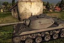 坦克世界德系8级轻坦RU251 排位上分就靠它