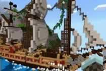 PE版冒险者的梦想混搭包7 冰雪空间和码头