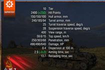 9.20超测服关于IS-7的加强 及部分S系变化