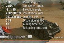 主炮升级 超测服JPZ4-5将安装105mm炮