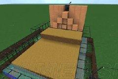《我的世界》非红石半自动收割农场制作教程