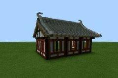 我的世界手机版中式屋顶悬顶教学 如何搭建悬顶