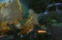 怪物猎人OL 无道具激斗片手G2雷狼龙白金
