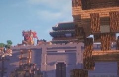 在《我的世界》里用方块重现《战意》战争场景