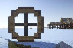 我的世界简易水车制作图文教学 简易水车怎么做
