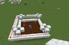 我的世界楼形一年生作物半自动收割机制作详解