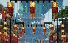 我的世界如何三天建一座中国风古城?插件分享