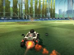 《火箭联盟》飞?#24425;?#27979;评测 霸气外露的赛车足球