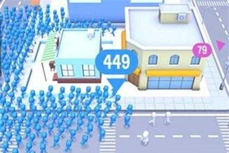 拥挤世界怎么设置成中文 CrowdCity高分技巧